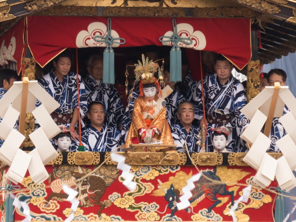 祇園祭 注連縄切り #7