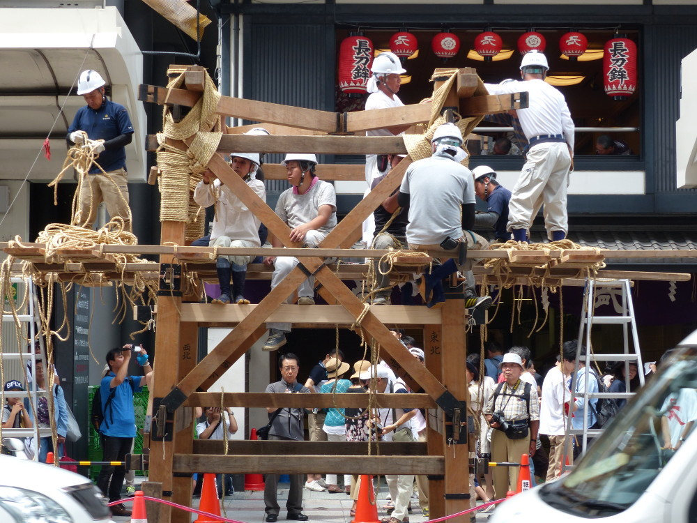 Making of 祇園祭 Gion-Festival #1