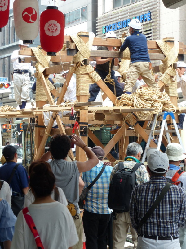 Making of 祇園祭 Gion-Festival #3