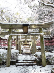 A snowy day in Kyoto #7