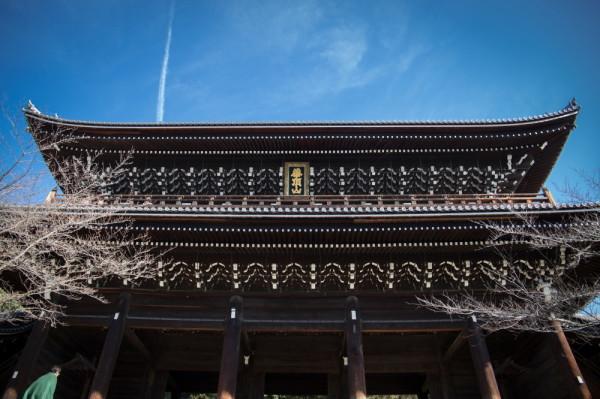 temple & sky #1