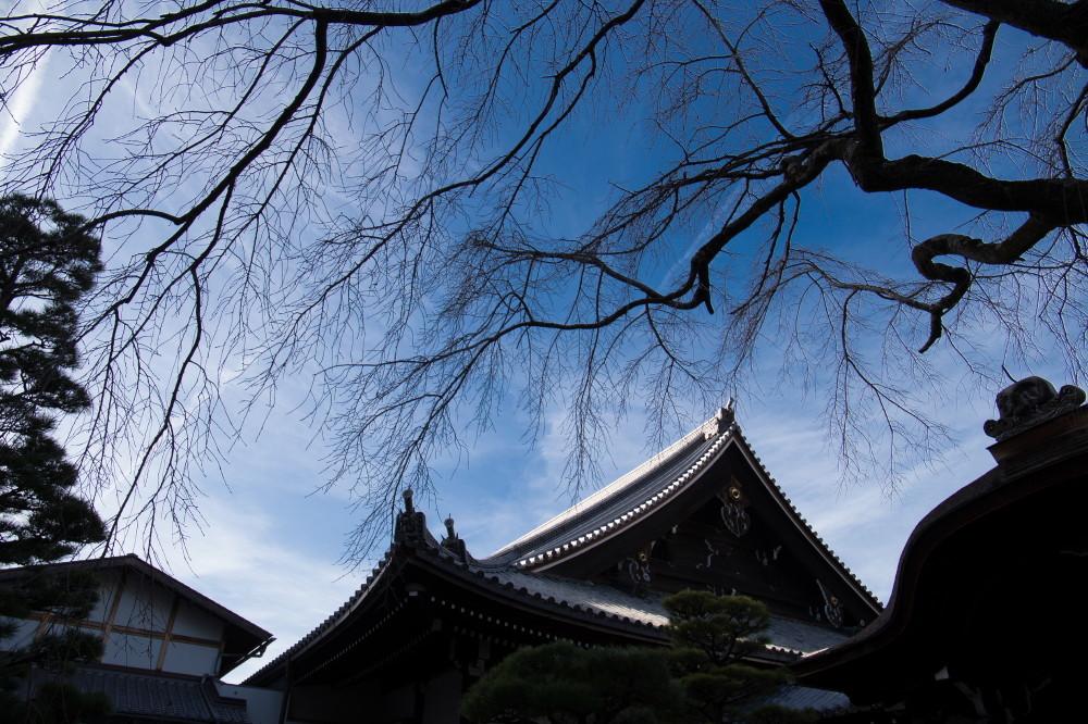 temple & sky #2