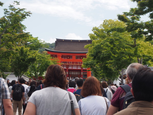 Let's go to the shrine ! #1