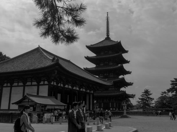 Nara in BW #1