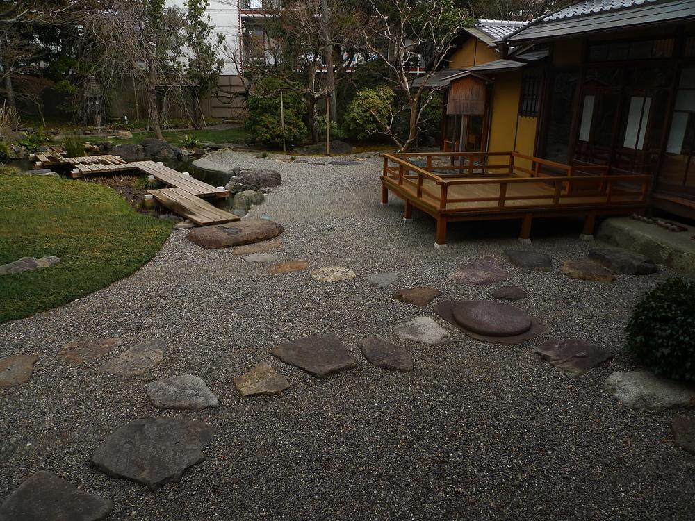 Restaurant's garden #1