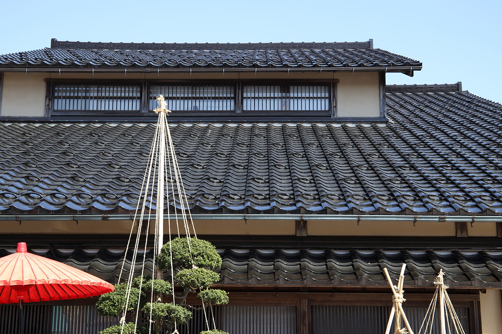 Shining Roof Tiles