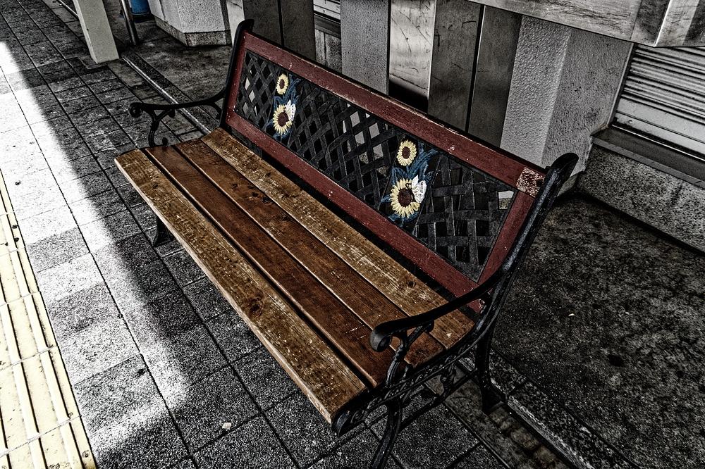 a bench - prelude to the botanical garden