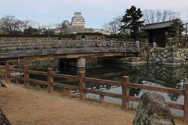 castle beyond the bridge