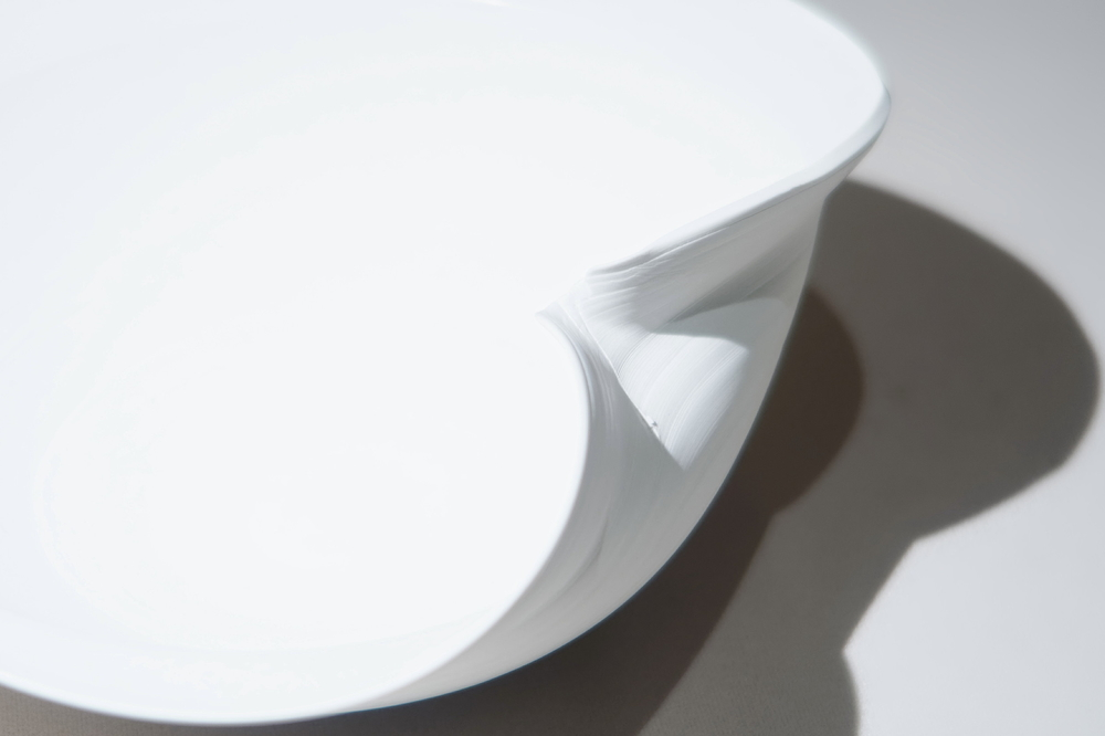 White porcelain at the exhibition #2