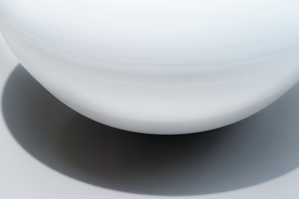 White porcelain at the exhibition #3