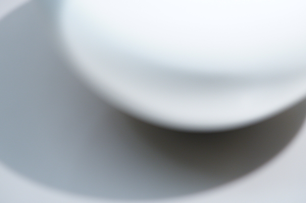 White porcelain at the exhibition #4