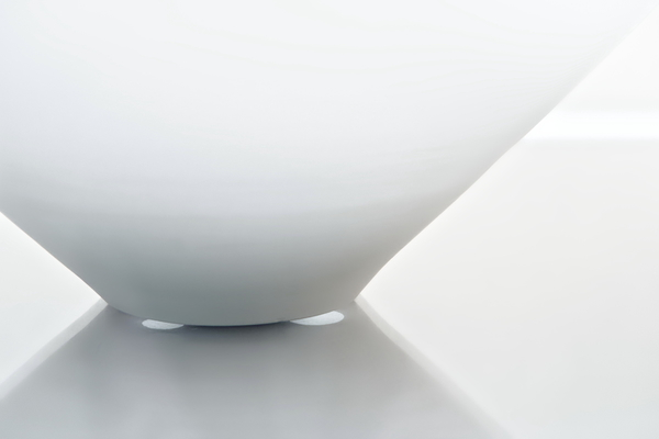 White porcelain at the exhibition #6