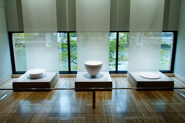 White porcelain at the exhibition #7