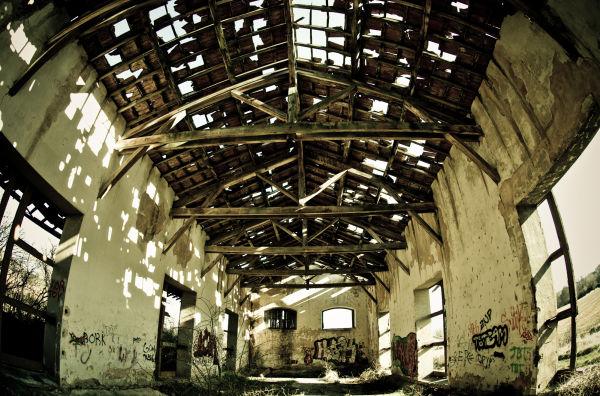 estacion abandonada