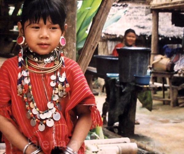 girl, north Thailand