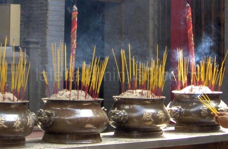 Temple Thien Hau, in Vietnam