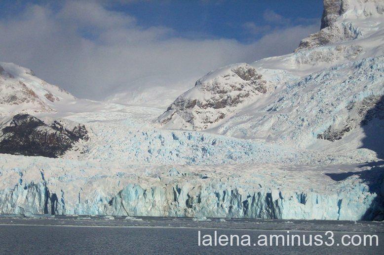 Glaciar Spegazzini en el Lago Argentino