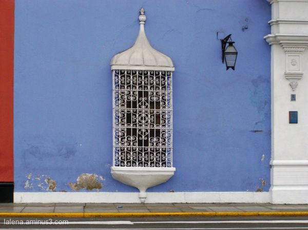 Finestra a Trujillo, Perú