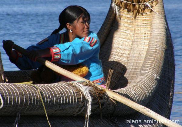 Sailing in Titikaka