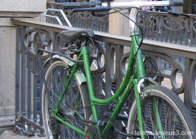 bici fermada