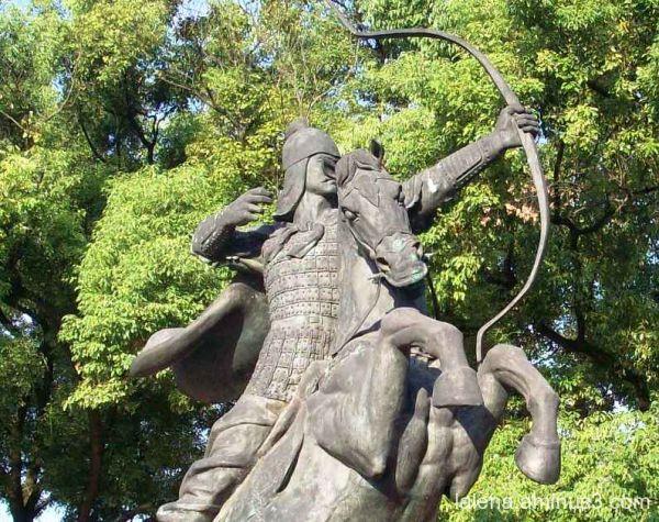 Guerrer xinès a Guilin