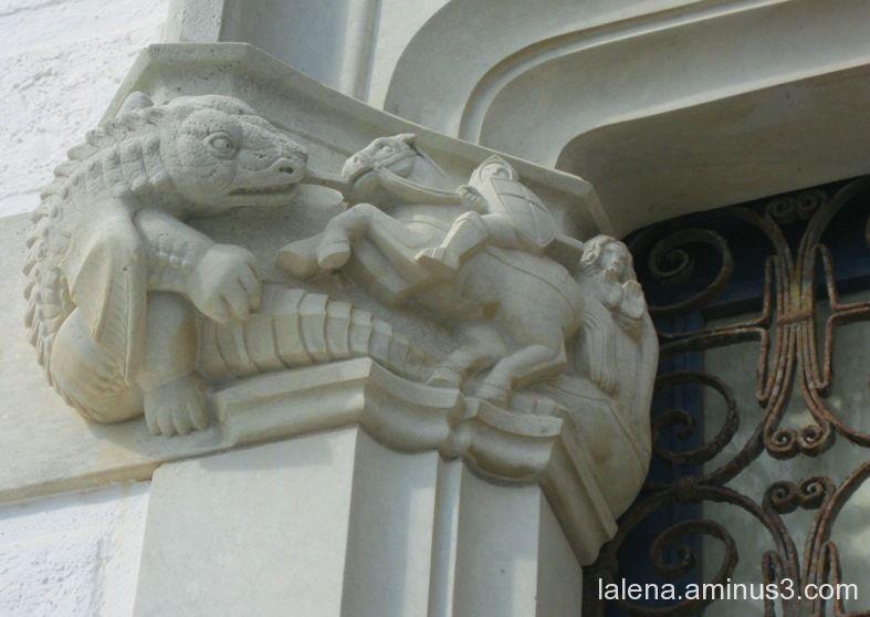 Sant Jordi i el drac II (versió sitgetana )