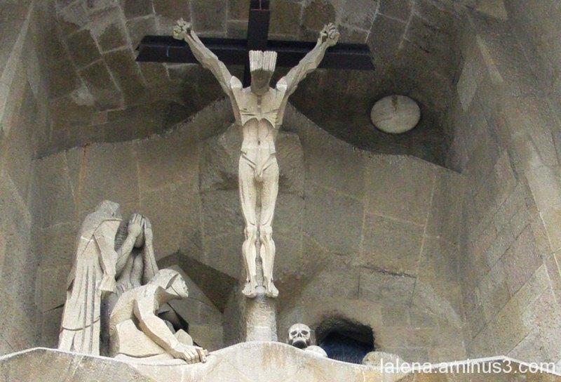 Detall exterior Sagrada Família 1