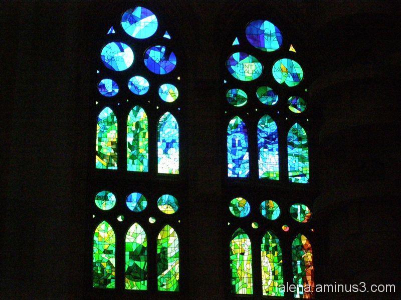 Vitralls Sagrada  Família