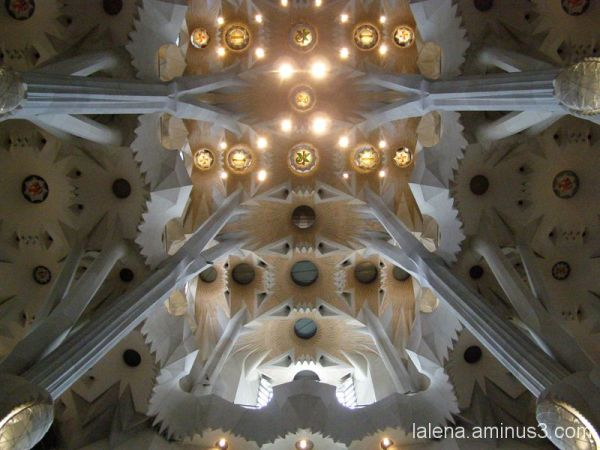Interior Sagrada Família