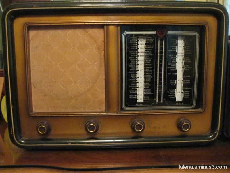vella ràdio dels 40'