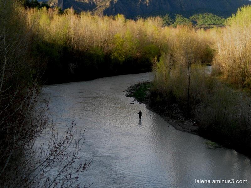 Pescant a Oliana