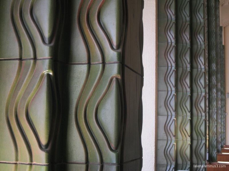 disseny 60' detall columnes