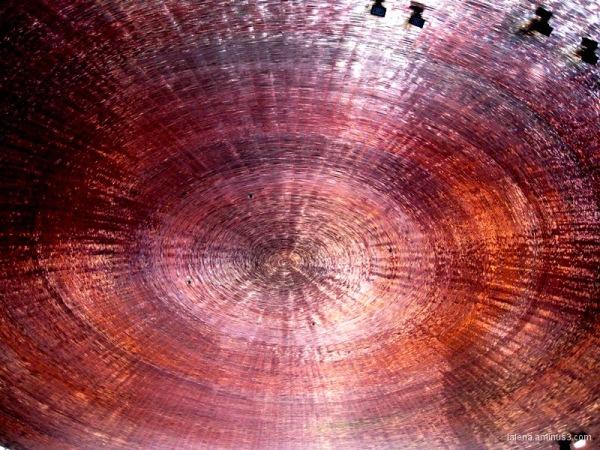 Sostre de coure circular