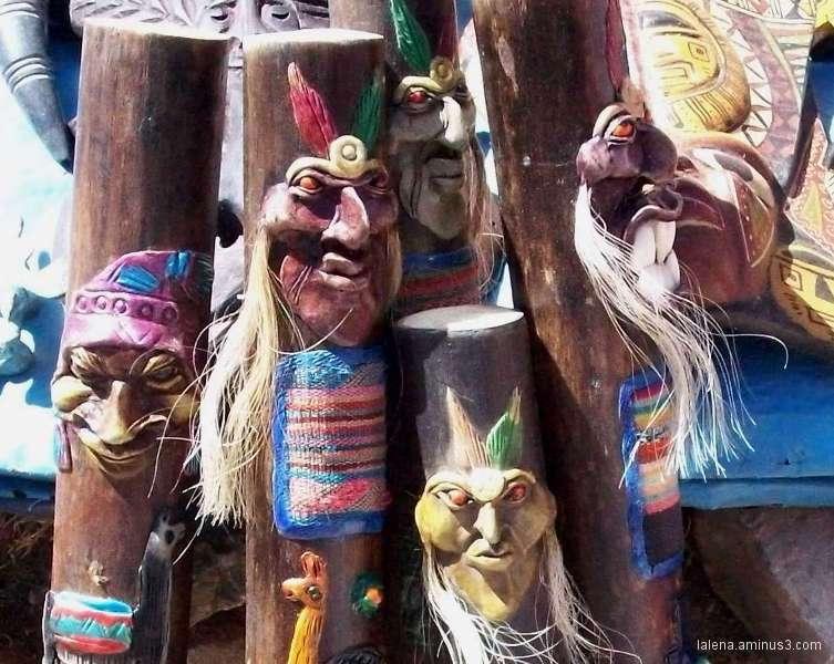 Bastons de comandament a Perú