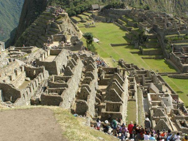 Esplanada de Machu-Pichu