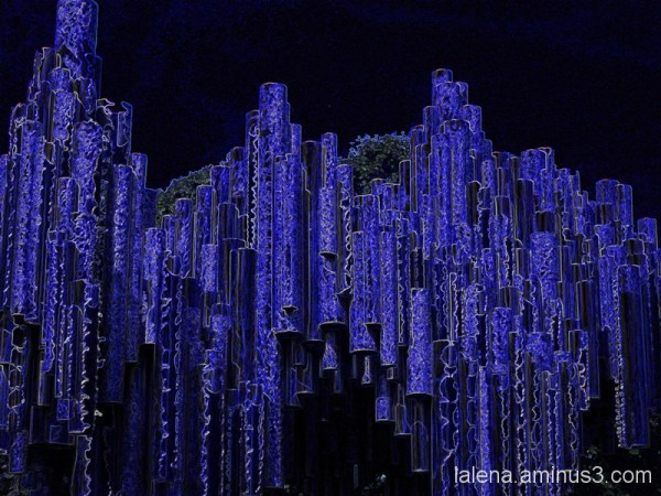 Decibelius en blau
