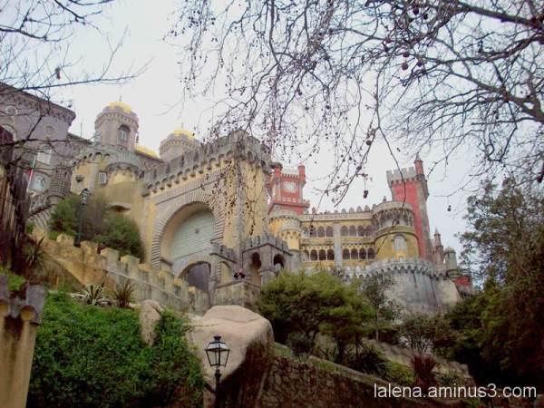 Castell de Sintra a Potugal