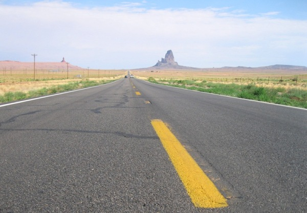 On the road.. to Monument valley
