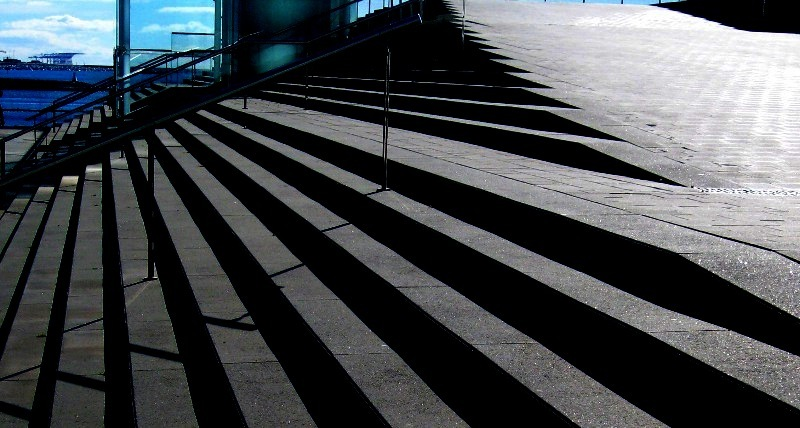 esglaons i ombres