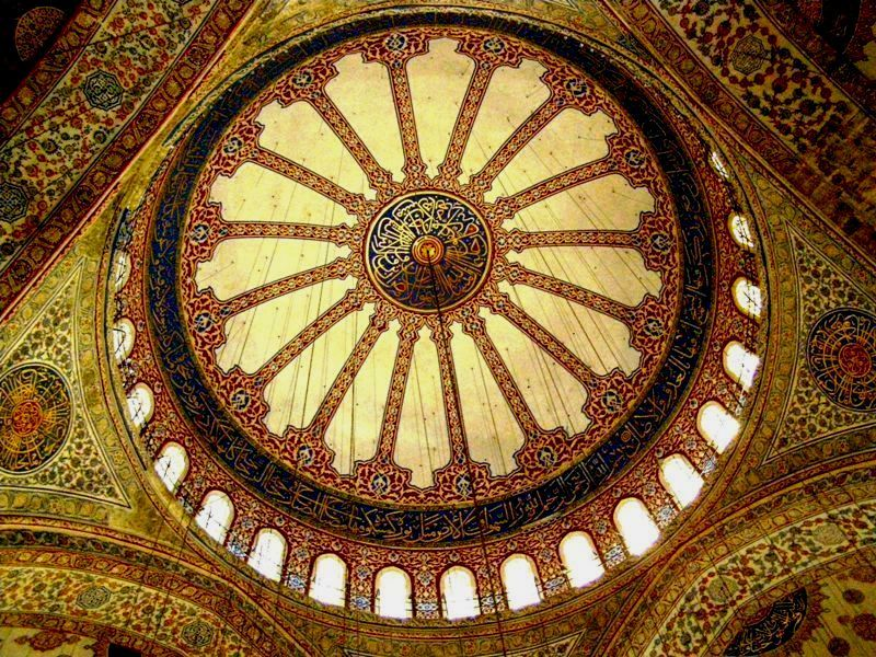 cúpula interior mesquita blava