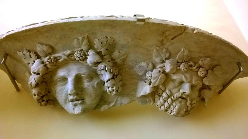 Baco deu del vi al museu de Tarraco