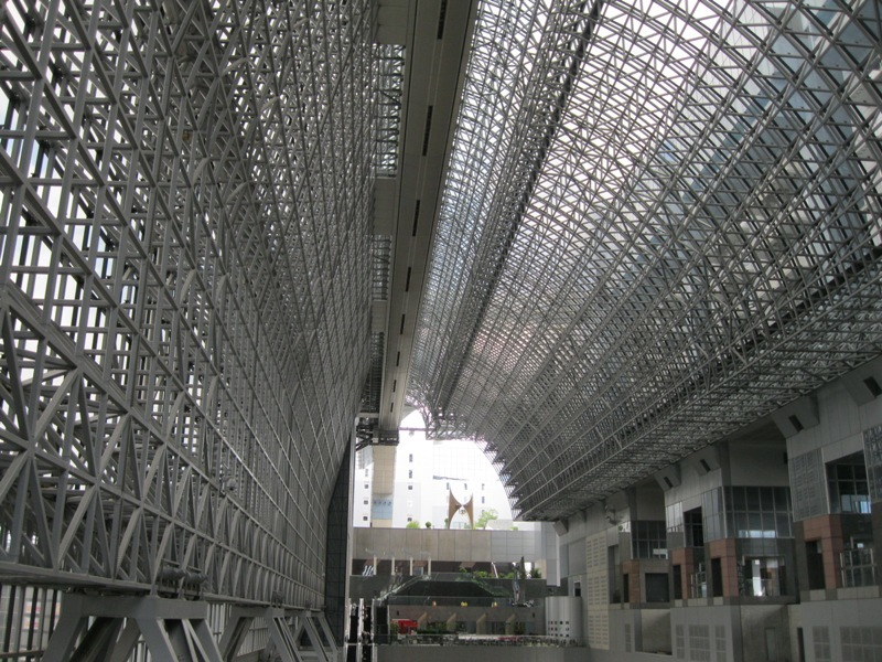 Estació de tren a Kyoto 2