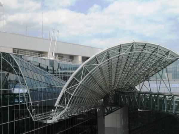 Sostre de l'estació de tren de kyoto