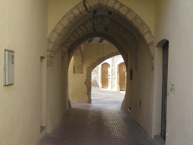 carreró de la vila de Sarrià