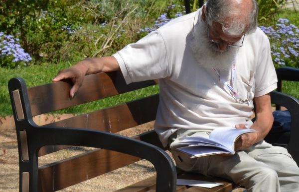 Concentrat en la lectura