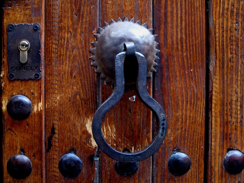 knock. knock...