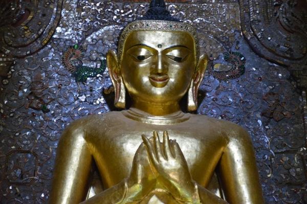Imatge de buda a Myanmar