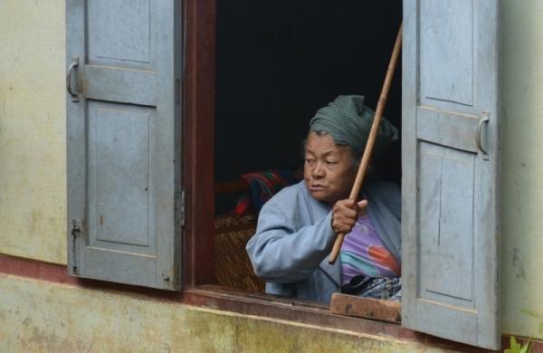 L'àvia i la seva vara