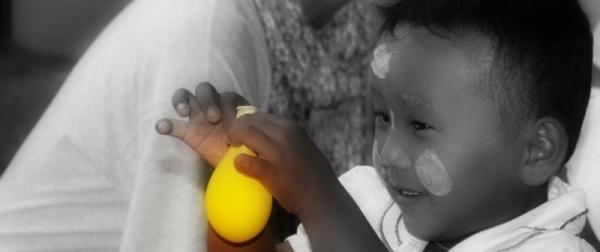El globus groc i un somriure