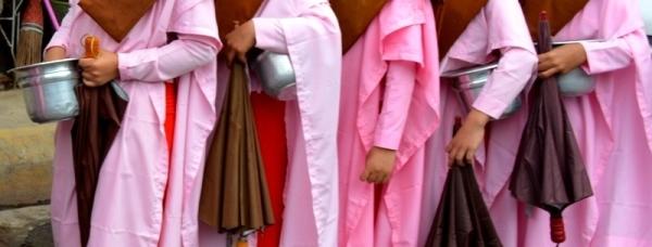 Túniques de monges budistes